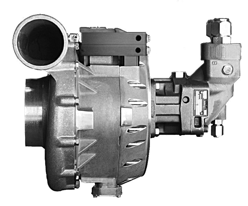 Engine Driven Centrifugal Blower : Vortron vt gear drive centrifugal blowers fast